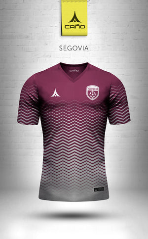 Segovia in maroon/white