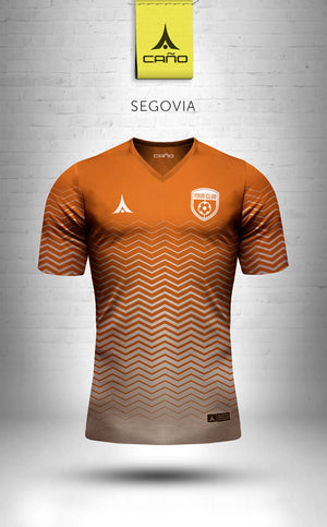 Segovia in orange/white