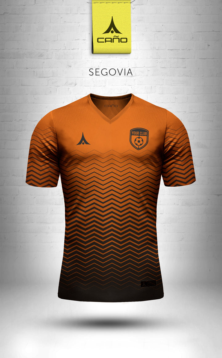 Segovia in orange/black