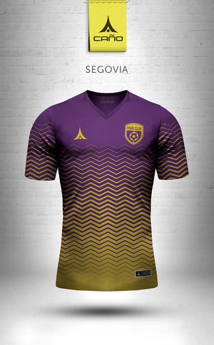 Segovia in purple/gold