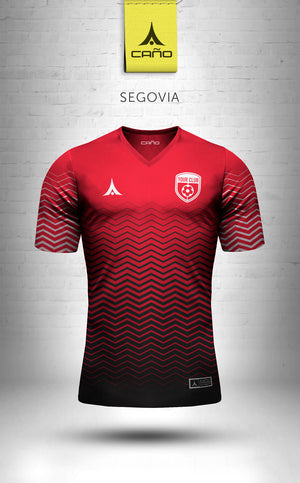Segovia in red/white/black