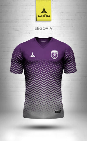 Segovia in purple/white