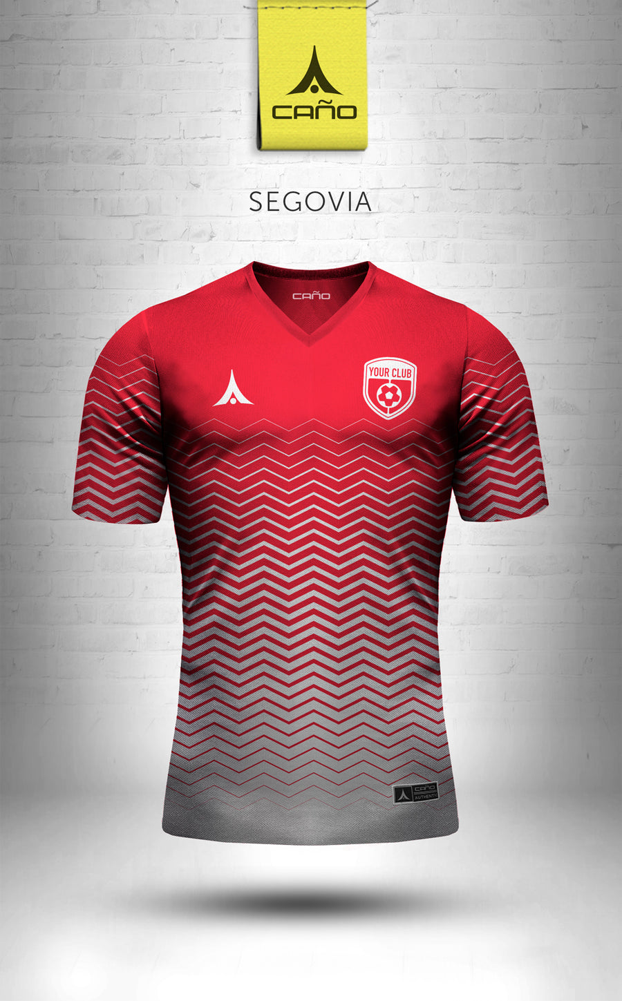 Segovia in red/white