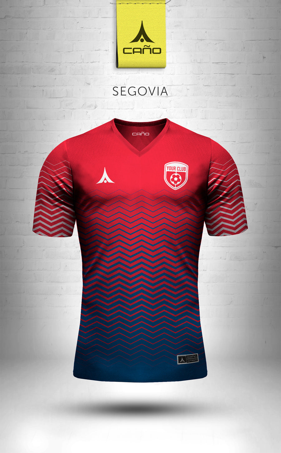 Segovia in red/white/blue