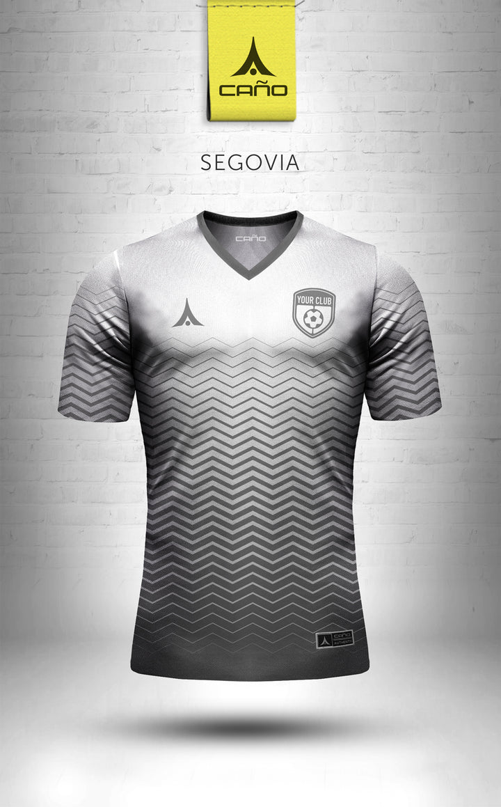 Segovia in white