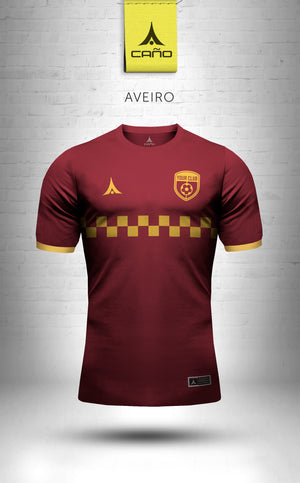 Aveiro in maroon/gold