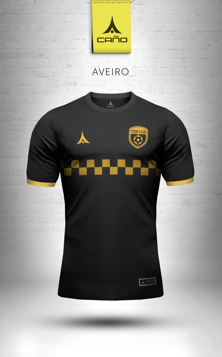 Aveiro in black/gold