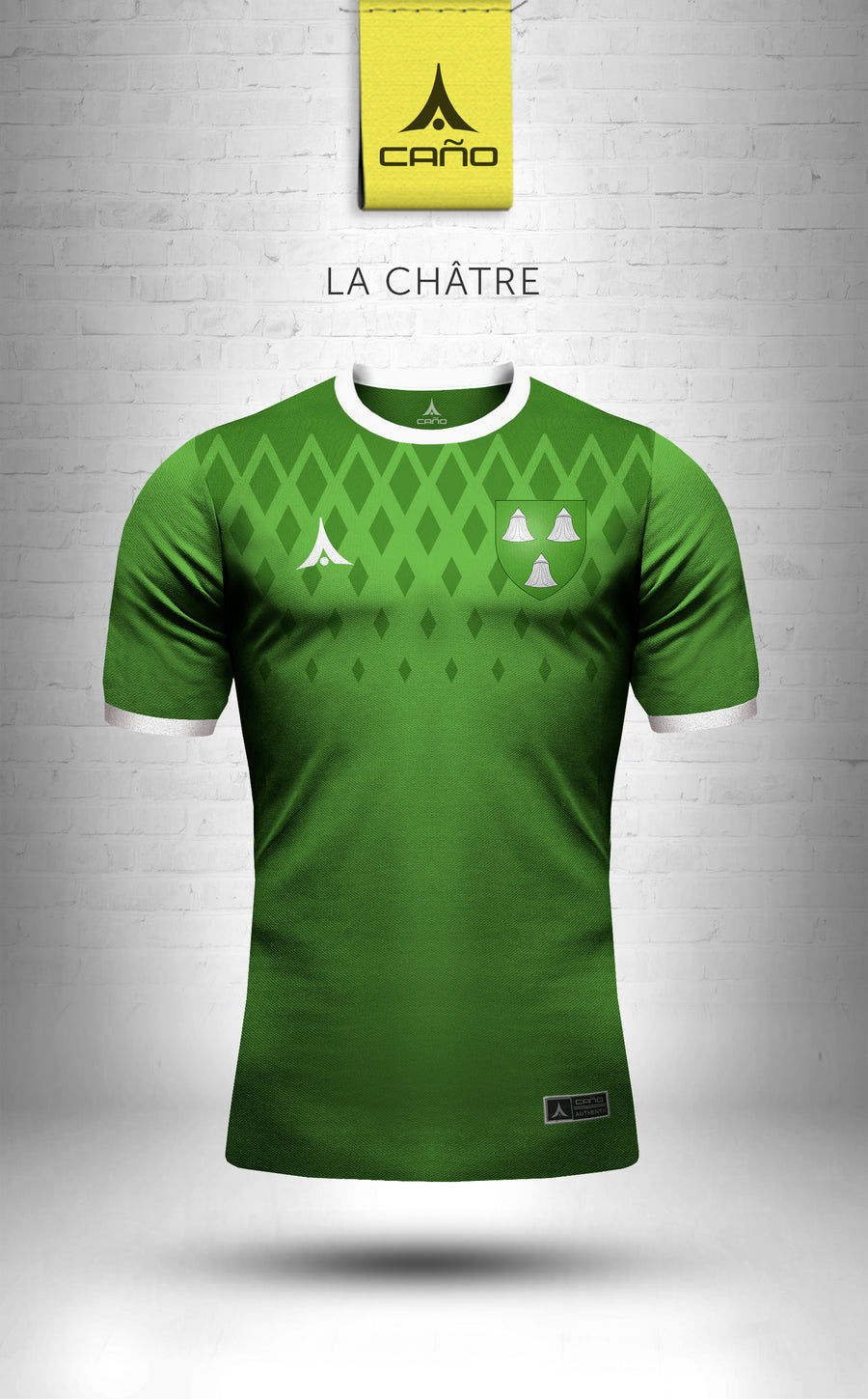La Chatre in green
