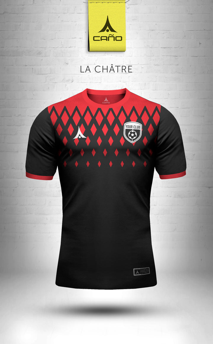 La Chatre in black/red