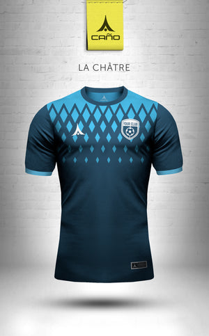 La Chatre in navy/light blue