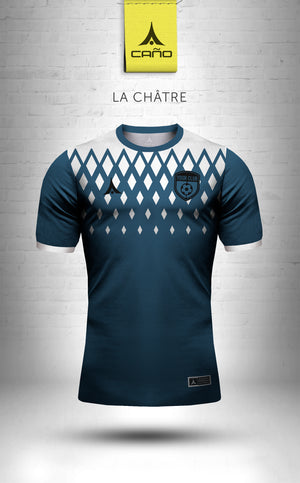 La Chatre in navy/white