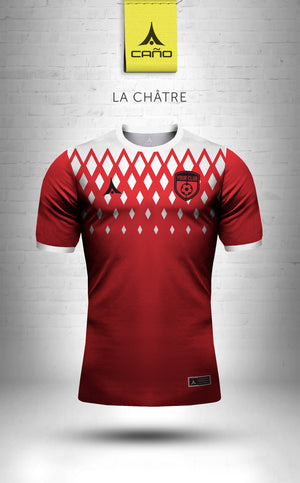 La Chatre in red/white