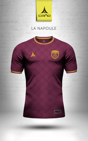 La Napoule in maroon/gold