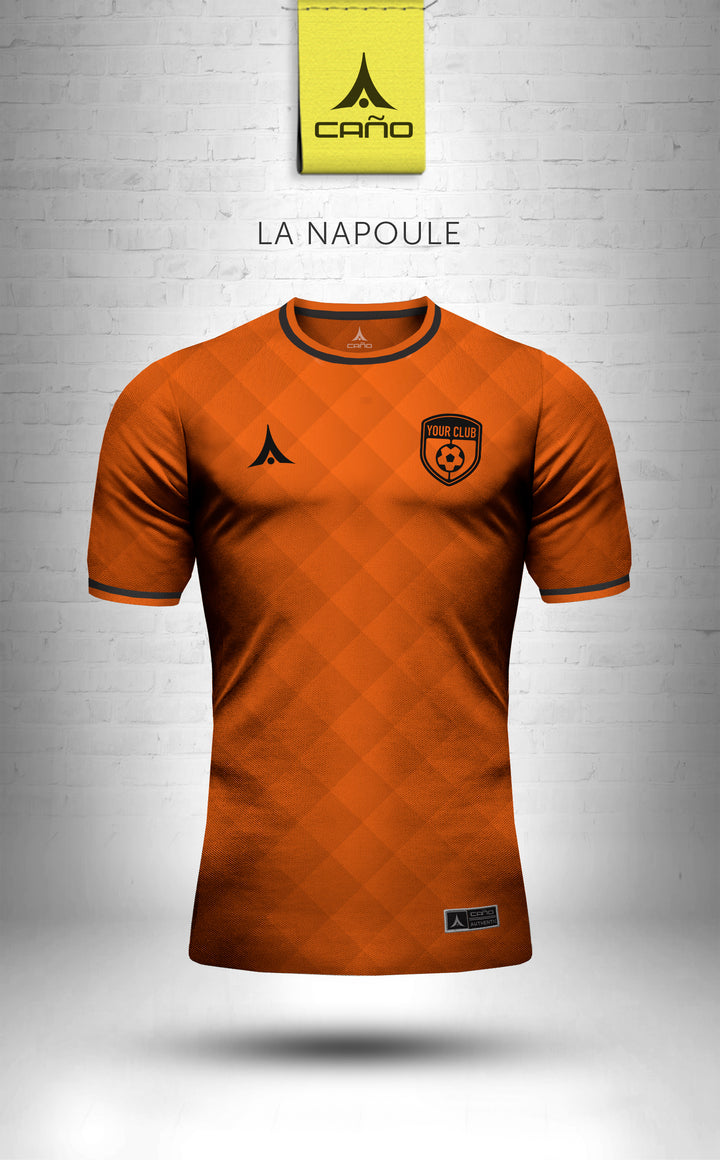 La Napoule in orange/black