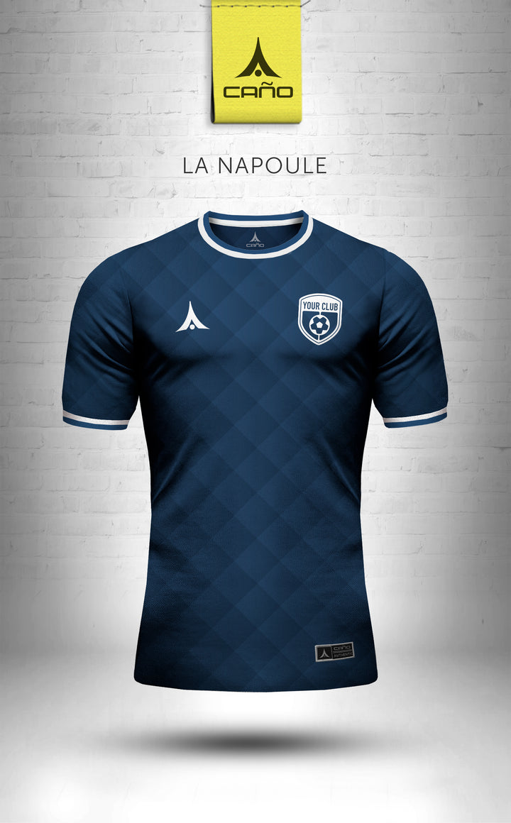La Napoule in navy/white