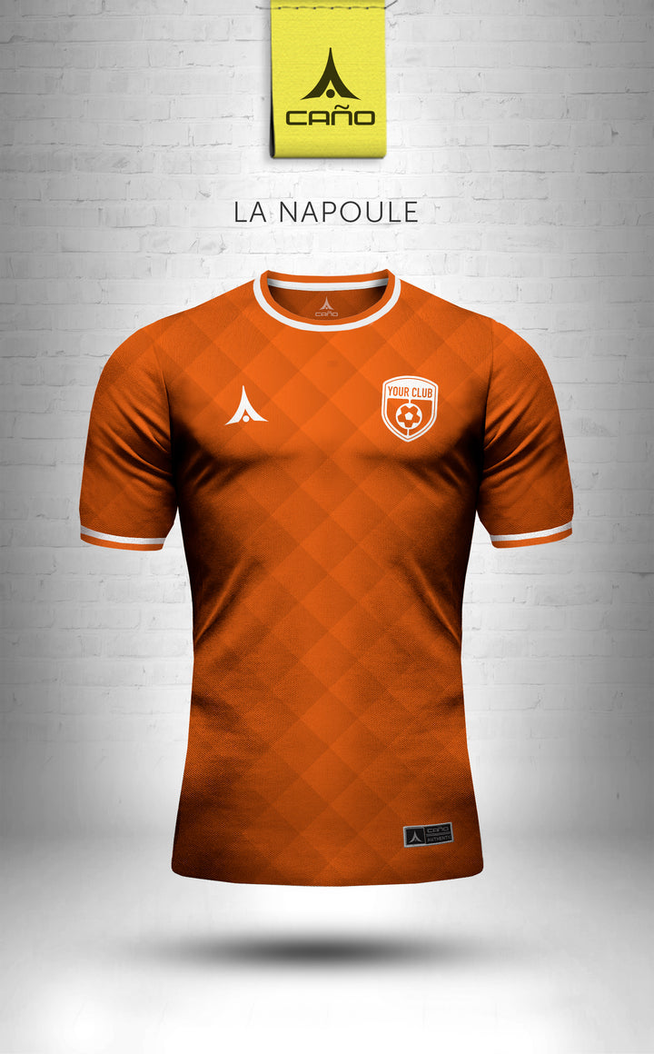 La Napoule in orange/white