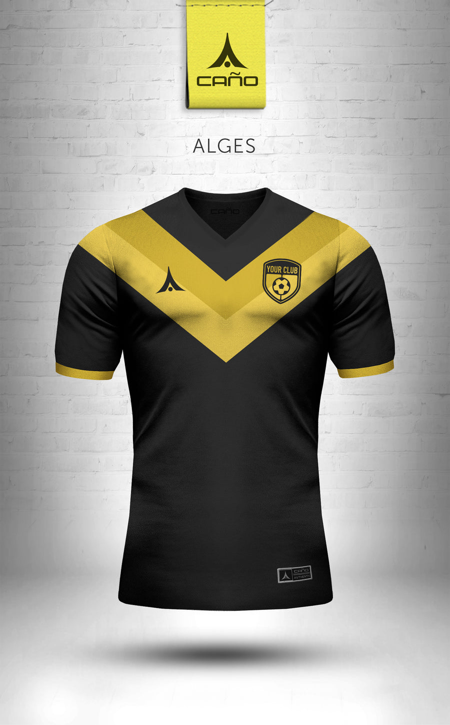 Alges in black/gold