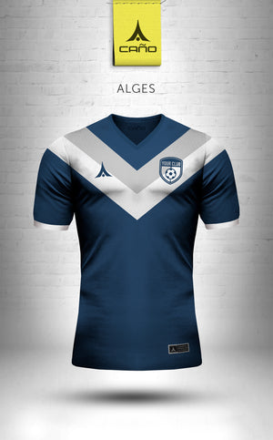 Alges in navy/white
