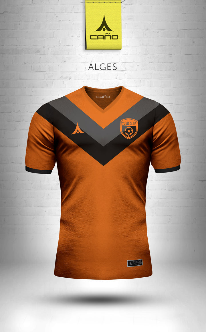 Alges in orange/black