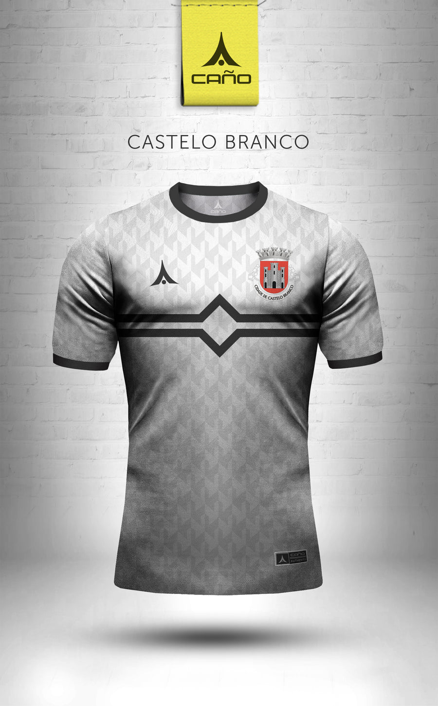 Castelo Branco in white/black