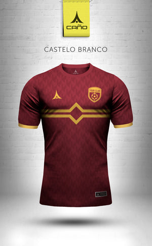 Castelo Branco in maroon/gold