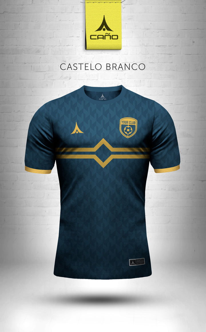 Castelo Branco in navy/gold