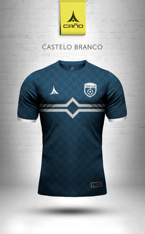 Castelo Branco in navy/white