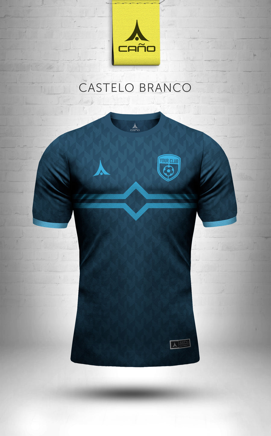 Castelo Branco in navy/light blue