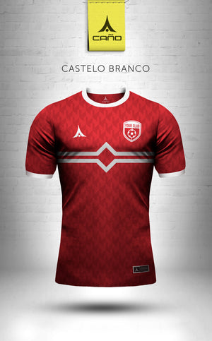 Castelo Branco in red/white