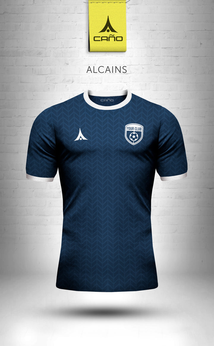 Alcains in navy/white