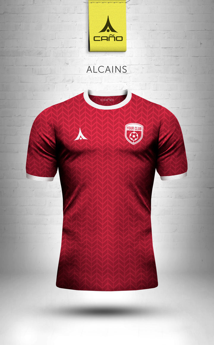 Alcains in red/white