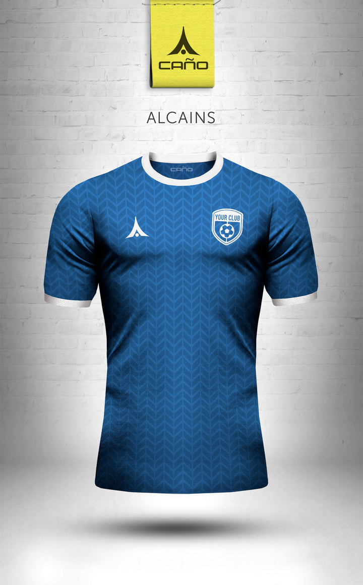 Alcains in royal/white