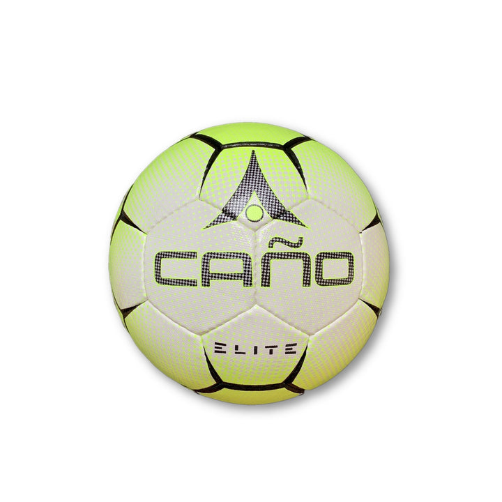 Caño Elite Soccer Ball - Neon Yellow