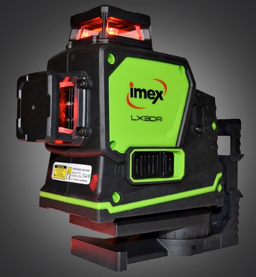 Imex LX3DR 3-Dimension Multi-liner Red Beam