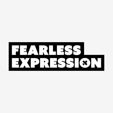 Fearless Expression Sticker