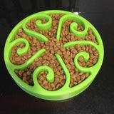 Anti-Gulp Slow Feeder Dog Bowl