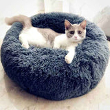 Fluffy Calming Orthopedic Cat Bed