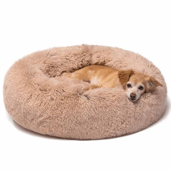 Fluffy Calming Orthopedic Dog Bed