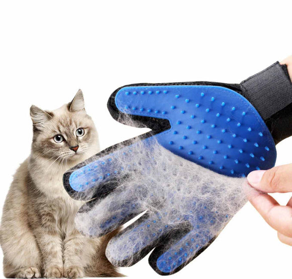 Gentle Grooming Cat Glove