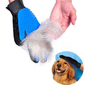 Gentle Grooming Dog Glove