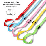 free offer giveaway Luminous LED Leash And Collar safe at night colors high quality nylon size medium large