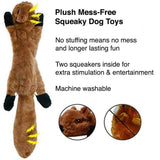 Plush Mess-Free Squeaky Toy