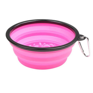 Portable Anti-Gulp Slow Feeder Dog Bowl Offer