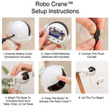 Robo Crane™ Interactive Cat Toy