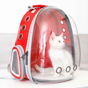 Space Voyager Cat Backpack safe travel happy big foldable strong sturdy breathable outdoor