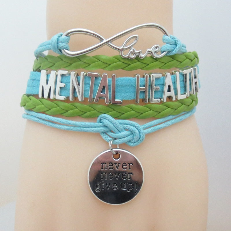 Infinity Mental Health Awareness Bracelet | MyAddictToMyAngel