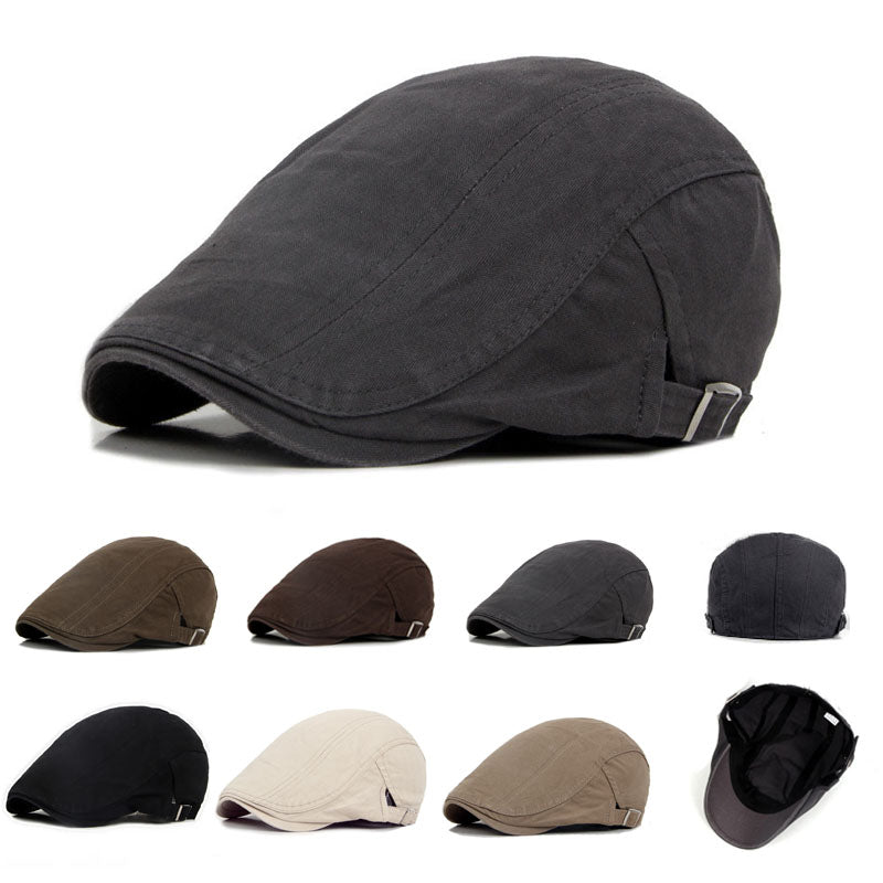 396b09a207bf Cap Men's Cotton Flat Cap Ivy Gatsby Newsboy Hunting Hat – bestcapsonline