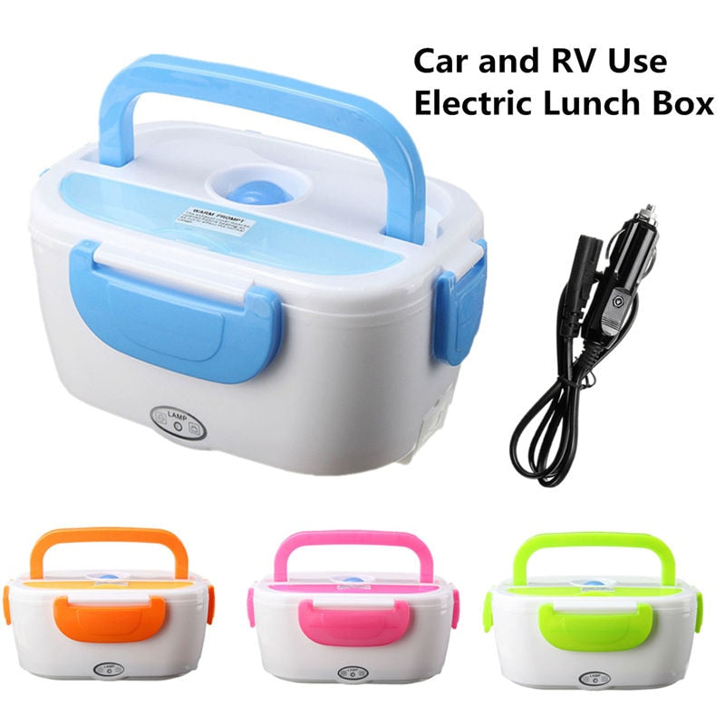 Caja de almuerzo de Bento Portátil eléctrico 12 V (Portable Electric 12V Heated Lunch Box)