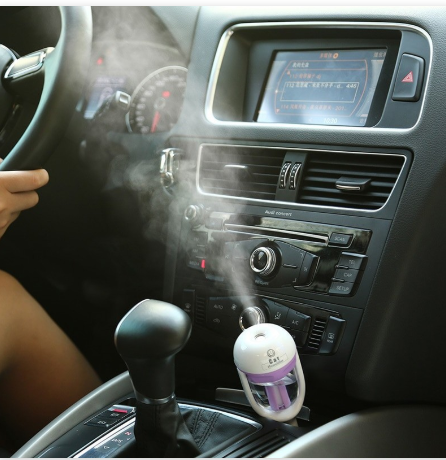 1Pcs 12V Car Steam Air Humidifier