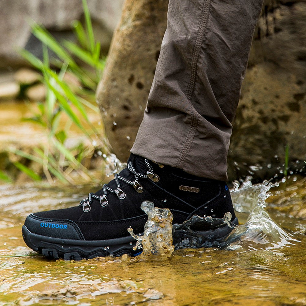 Men Outdoor Comfortable  Mountaineering Shoes
